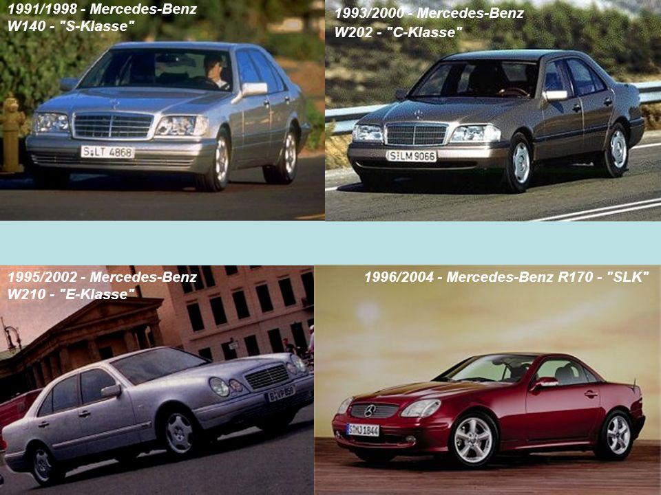 1991/1998 - Mercedes-Benz W140 -