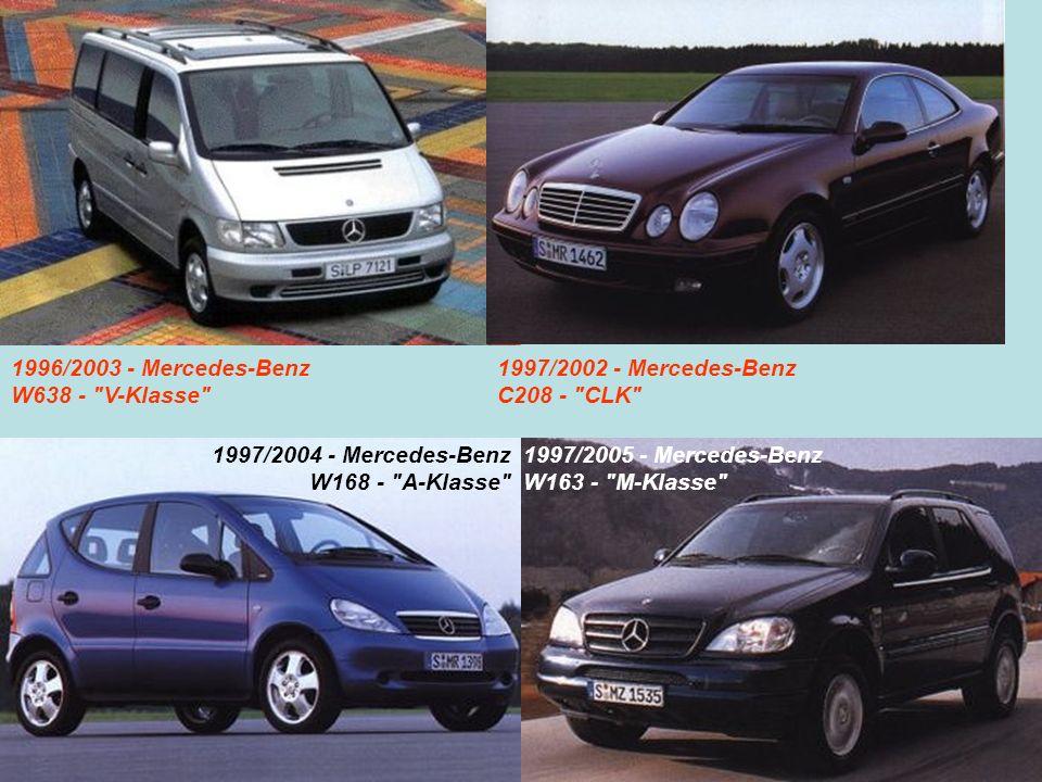1996/2003 - Mercedes-Benz W638 -
