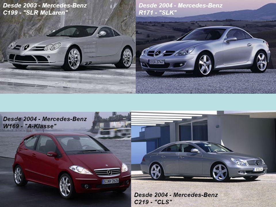 Desde 2003 - Mercedes-Benz C199 -
