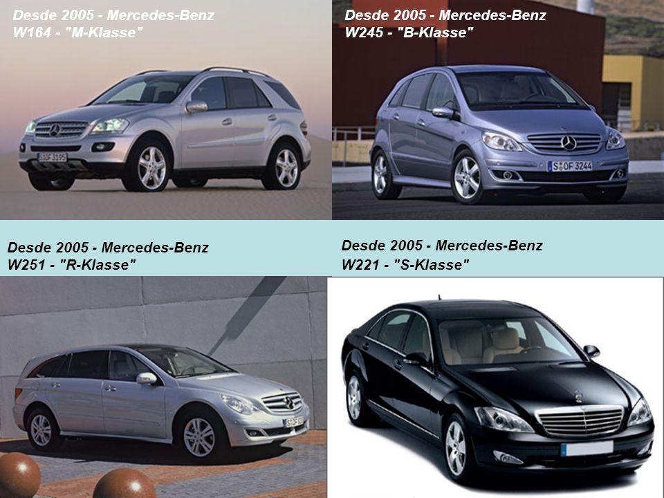 Desde 2005 - Mercedes-Benz W164 -