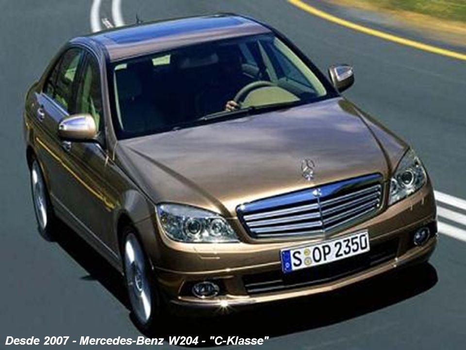 Desde 2007 - Mercedes-Benz W204 -