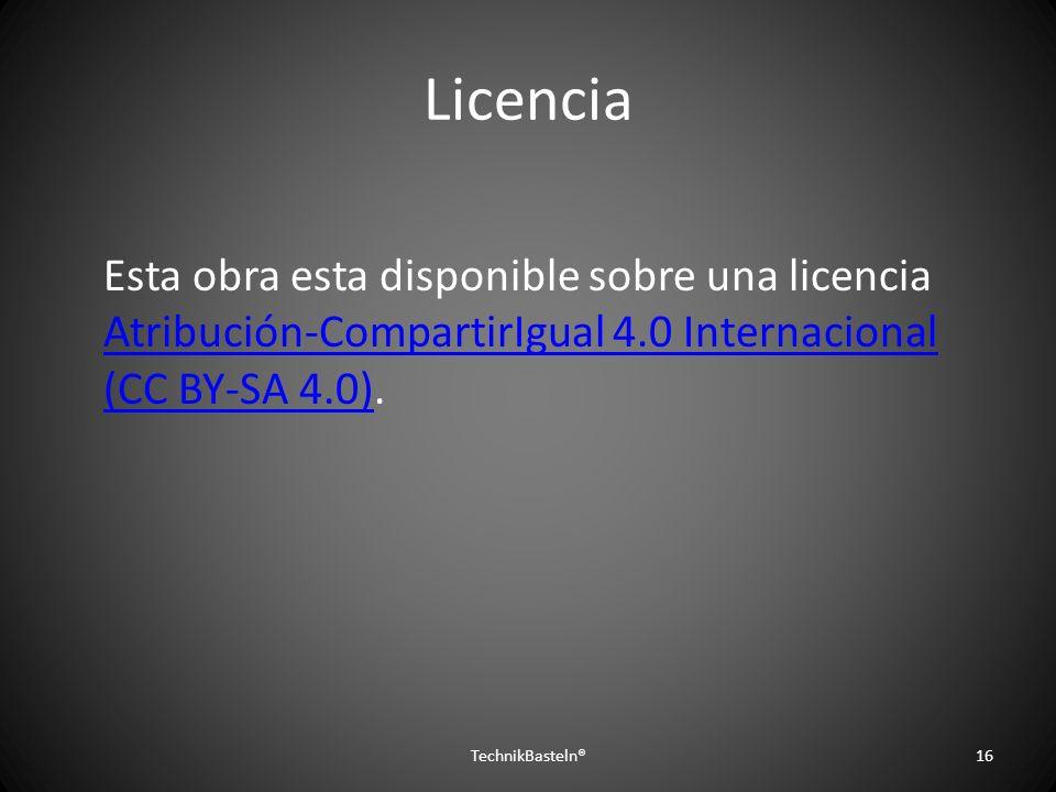 Licencia Esta obra esta disponible sobre una licencia Atribución-CompartirIgual 4.0 Internacional (CC BY-SA 4.0). Atribución-CompartirIgual 4.0 Intern