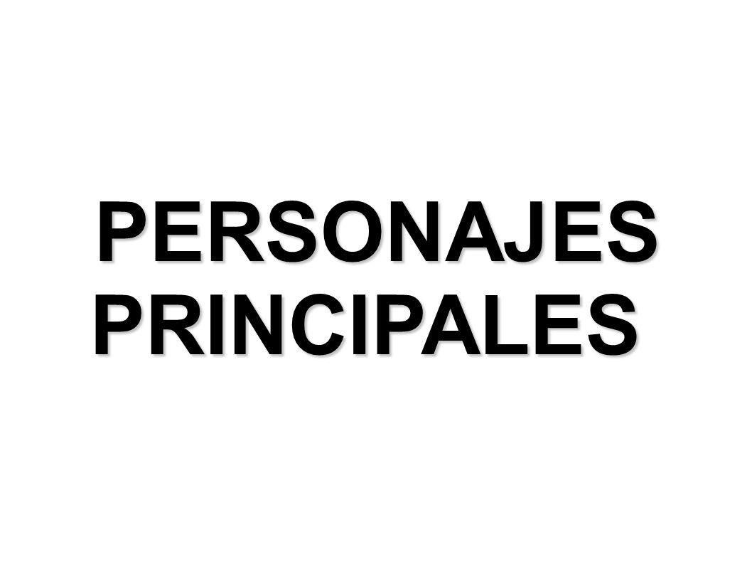 PERSONAJES PERSONAJESPRINCIPALES