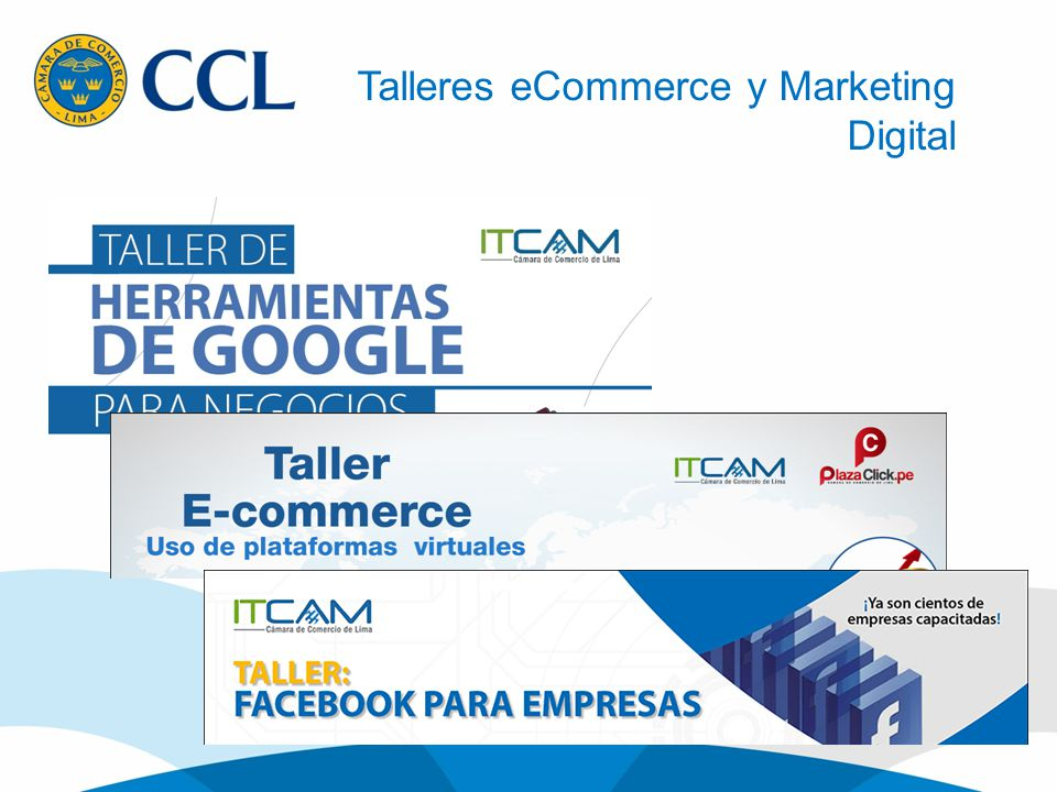 Talleres eCommerce y Marketing Digital
