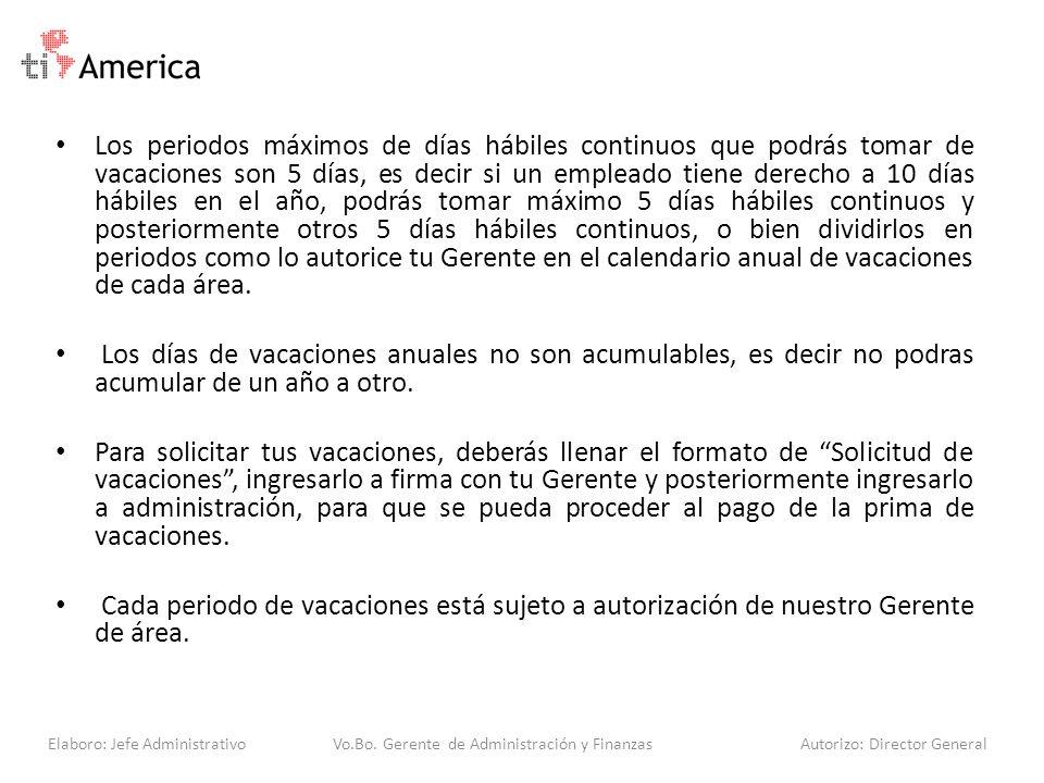 REGULARIZACION DE VACACIONES Para regularizar las vacaciones del personal con esta política, en el 2014 se estarán programando vacaciones pendientes del 2013 y programando las del 2014.