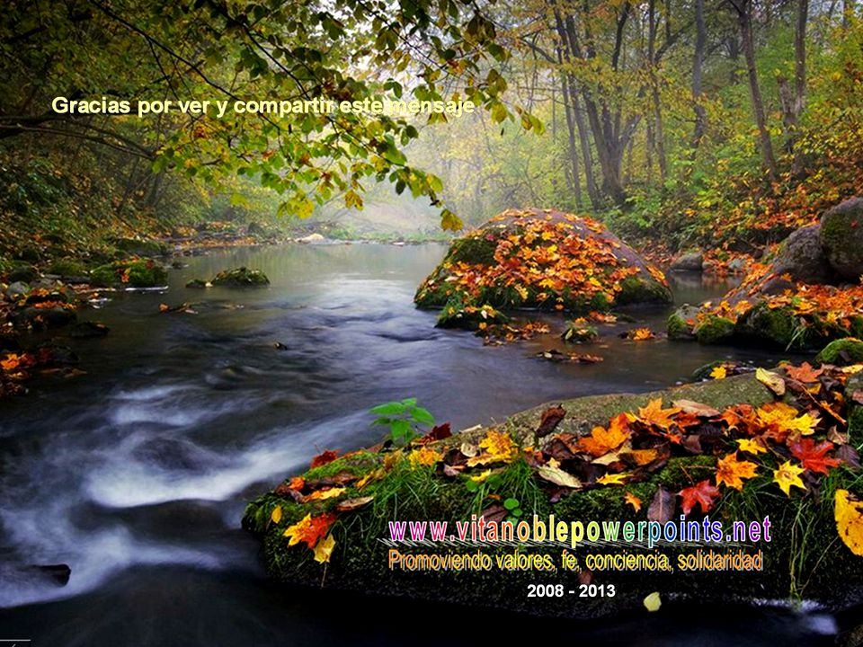 www.vitanoblepowerpoints.net Un abrazo