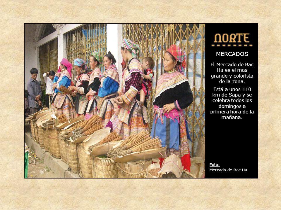 MERCADOS En toda la zona hay mercados semanales a los que acude la gente de las aldeas próximas y lejanas para intercambiar sus productos.