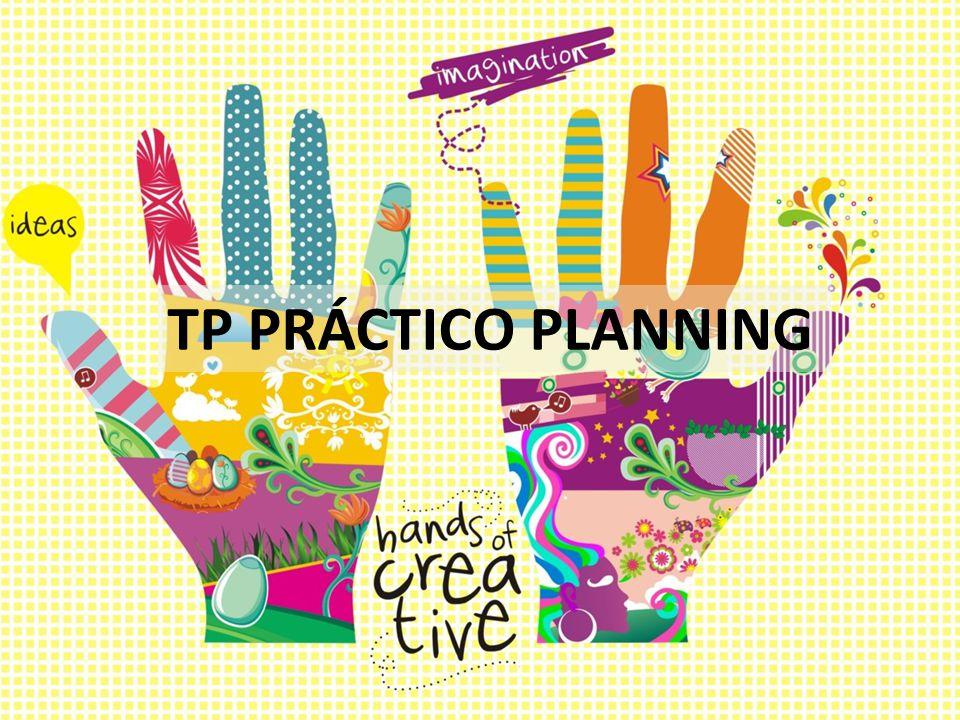 TP PRÁCTICO PLANNING