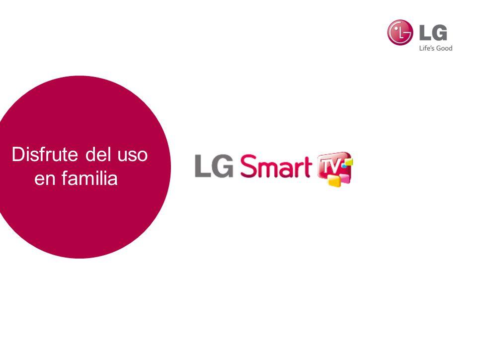 LG Smart TV Nueva Interfaz, más sencilla, más intuitiva y muy divertida.