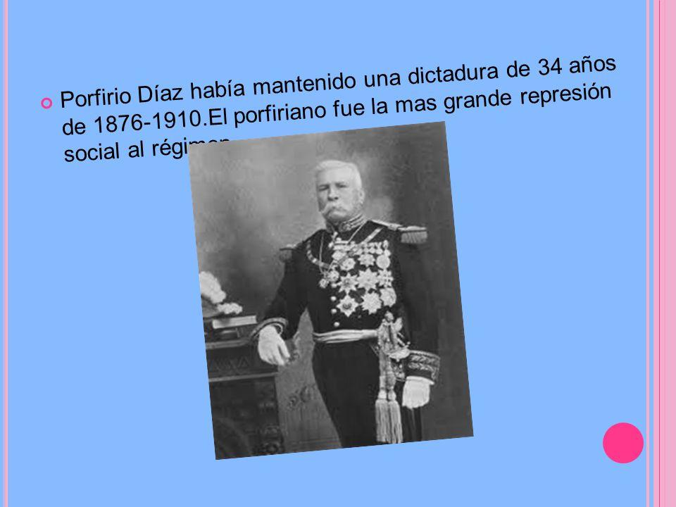 La Revolución Mexicana fue un conflicto armado, iniciado el 20 de noviembre de 1910 con un levantamiento encabezado por Francisco i. Madero contra el
