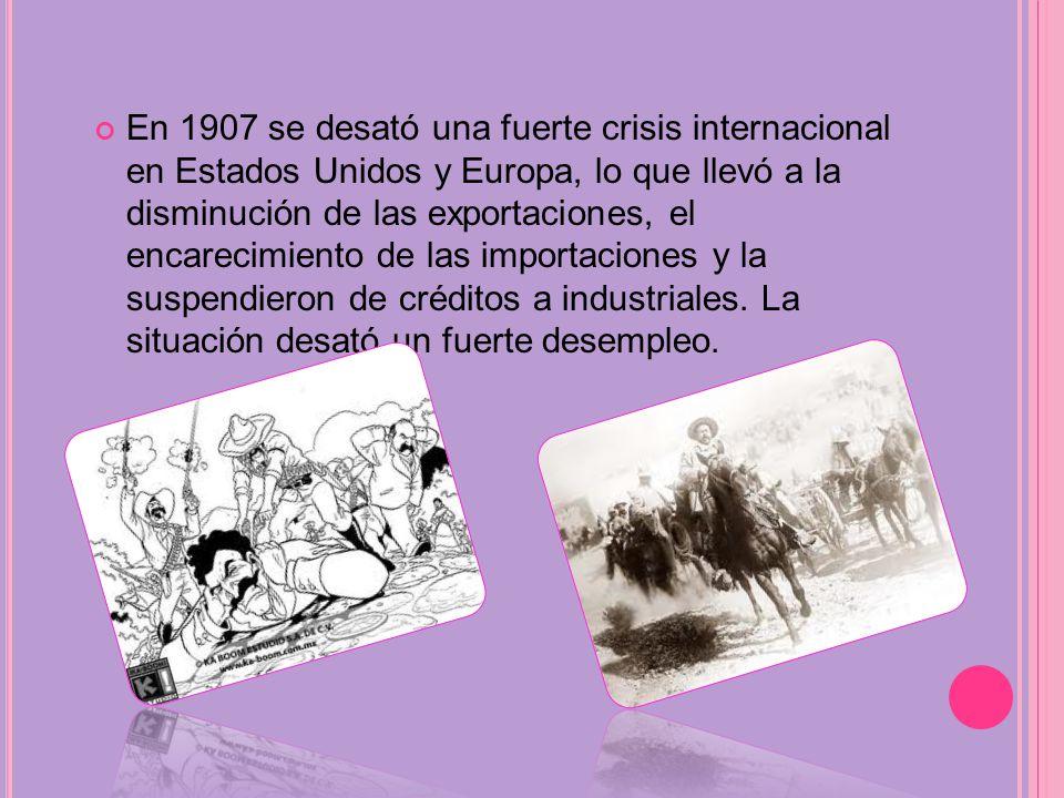 A principios del siglo XX comenzó la explotación petrolera en México, Este proceso finalmente llevó al país a una transformación industrial. Inversion