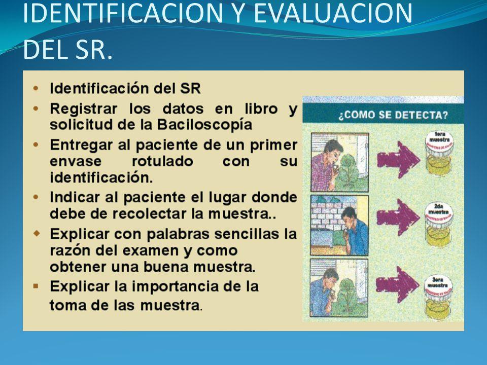 IDENTIFICACION Y EVALUACION DEL SR.