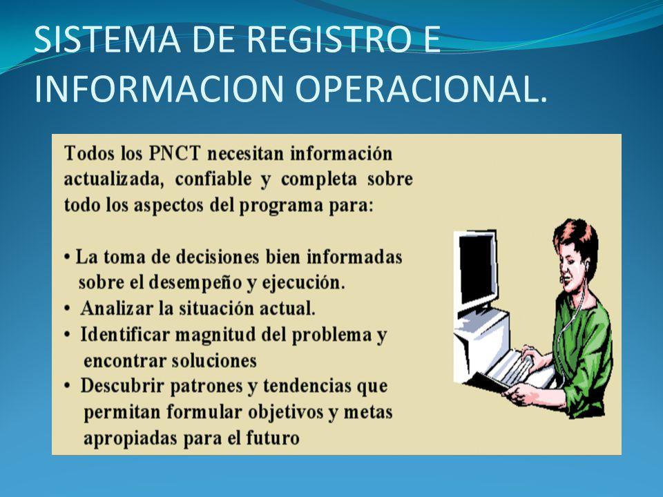 SISTEMA DE REGISTRO E INFORMACION OPERACIONAL.