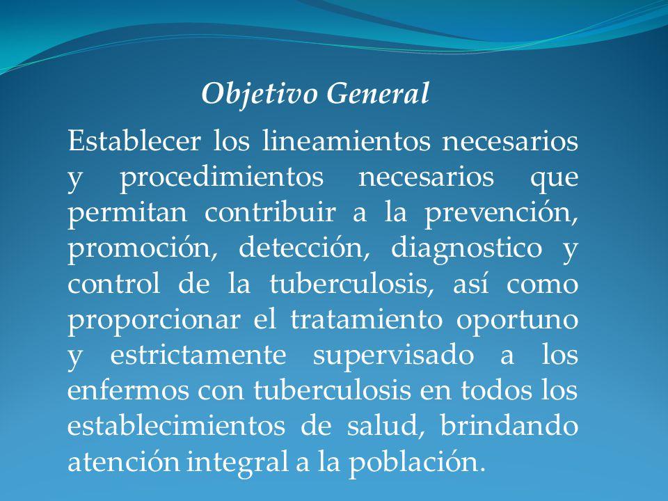 Establecer los lineamientos necesarios y procedimientos necesarios que permitan contribuir a la prevención, promoción, detección, diagnostico y contro