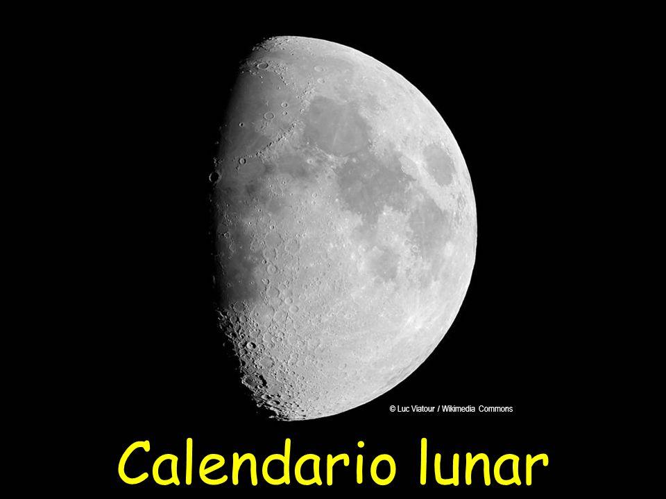 Calendario lunar © Luc Viatour / Wikimedia Commons