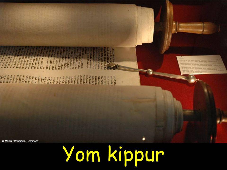 Yom kippur © Merlin / Wikimedia Commons