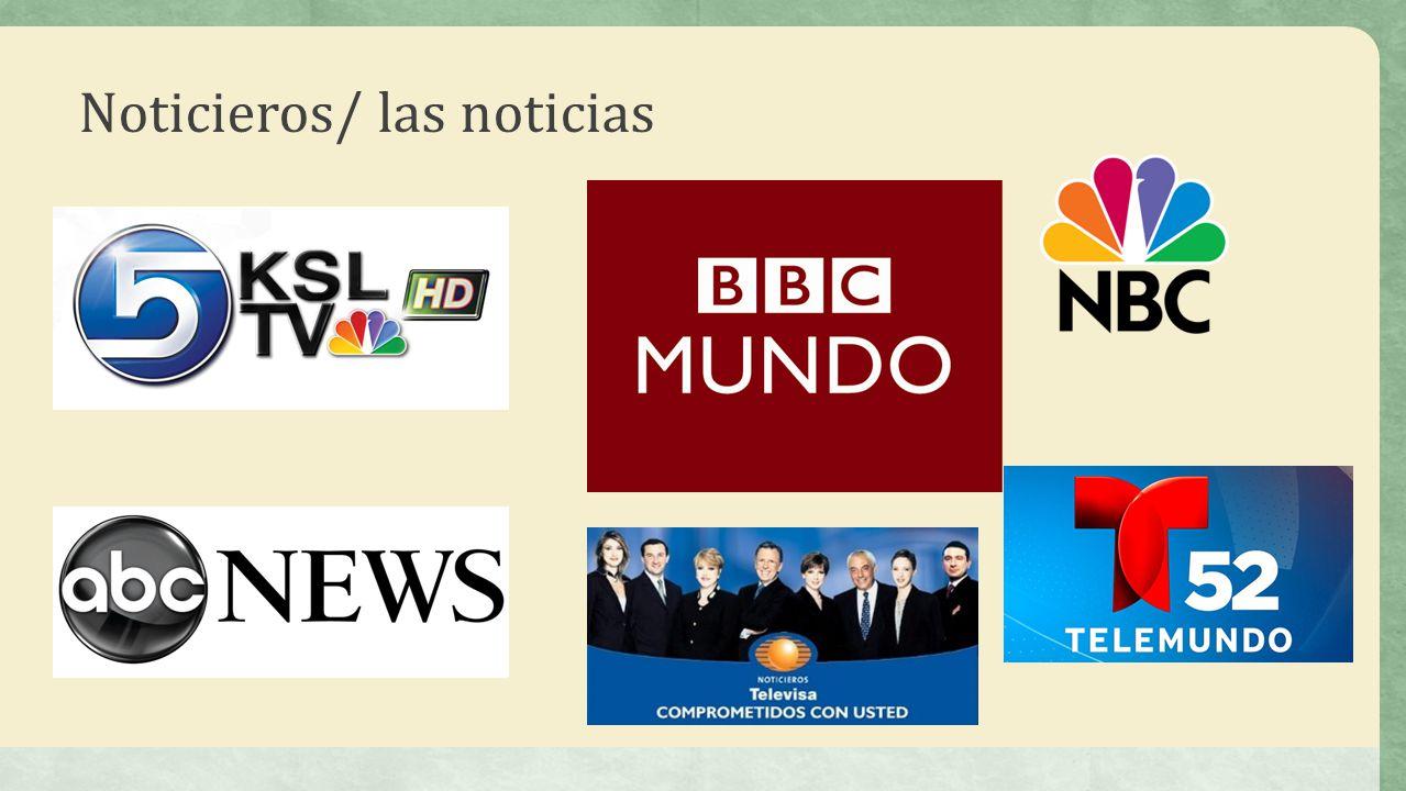 Noticieros/ las noticias