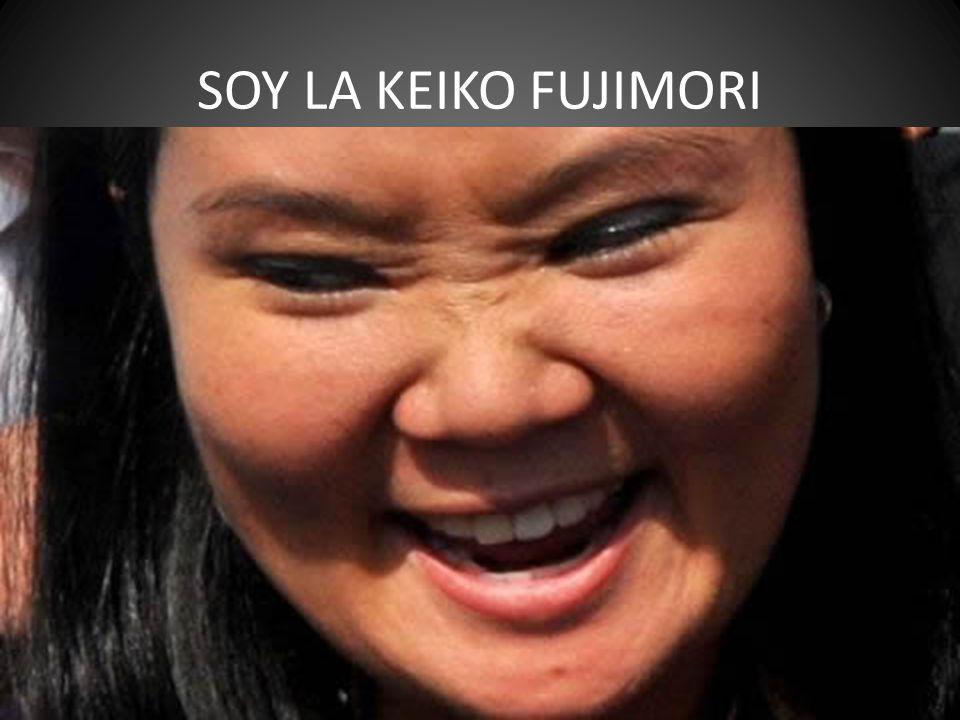 Yo sere tu Presidenta el 2011 quieras o no quieras ja.ja.ja.ja.ja. no se olviden peruanos estupidos que soy la hija de Kenya Fujimori
