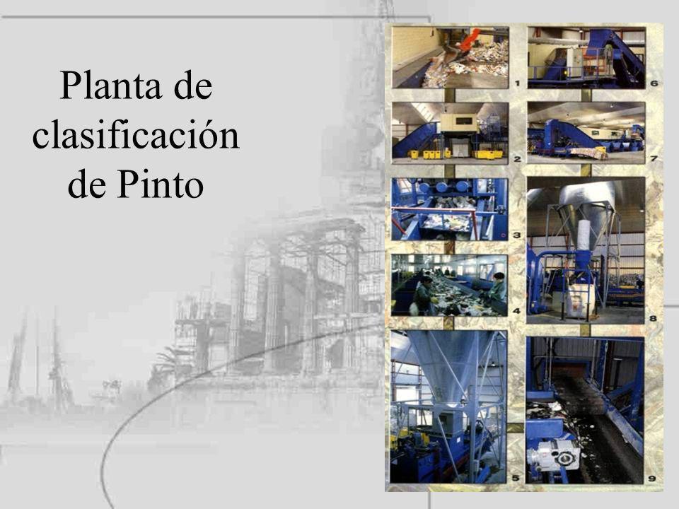 Planta de clasificación de Pinto