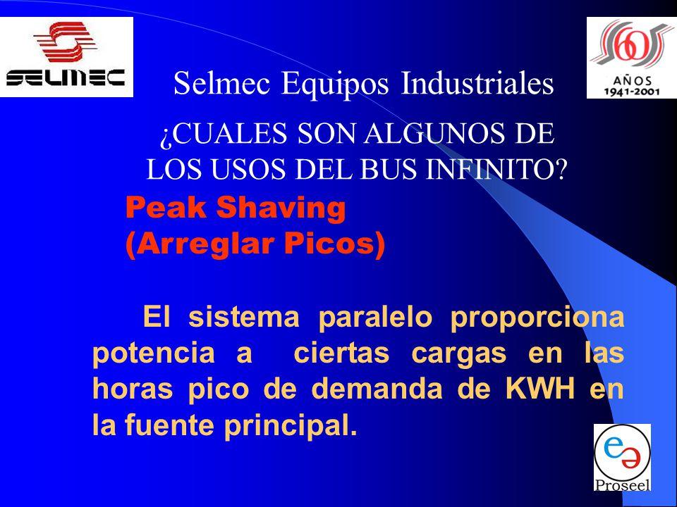 Selmec Equipos Industriales ¿CUALES SON ALGUNOS DE LOS USOS DEL BUS INFINITO.