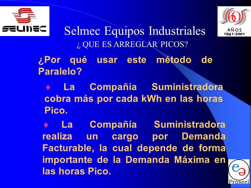 Selmec Equipos Industriales ¿ QUE ES ARREGLAR PICOS.