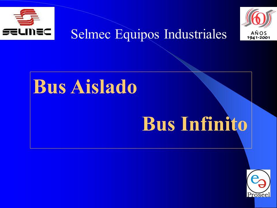 Selmec Equipos Industriales Bus Aislado: El Bus de Emergencia al cual se conectan todos los Interruptores de los conjuntos generadores y está conectado a la carga del edificio a través del mecanismo de tablero de transferencia.