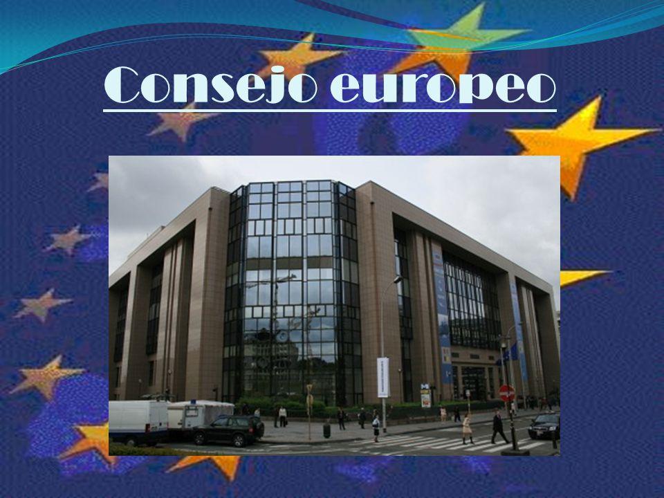¿Qué hace el Consejo Europeo.