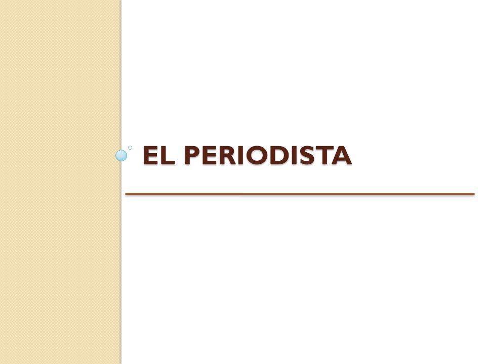 EL PERIODISTA