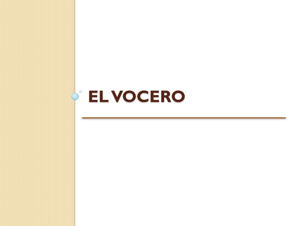 EL VOCERO