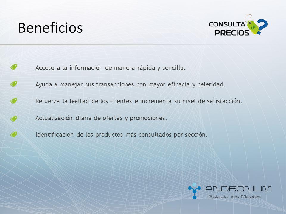 Sistema de Control de Precios ¡Consulta Precios se alinea a sus necesidades!