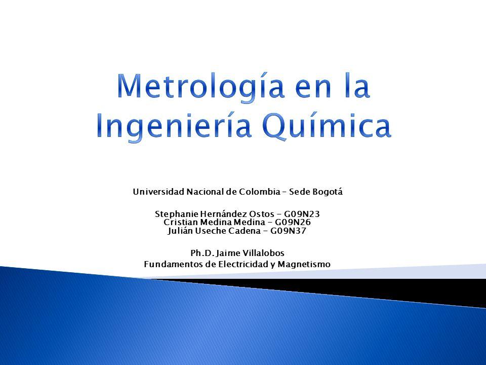 Universidad Nacional de Colombia – Sede Bogotá Stephanie Hernández Ostos - G09N23 Cristian Medina Medina - G09N26 Julián Useche Cadena - G09N37 Ph.D.