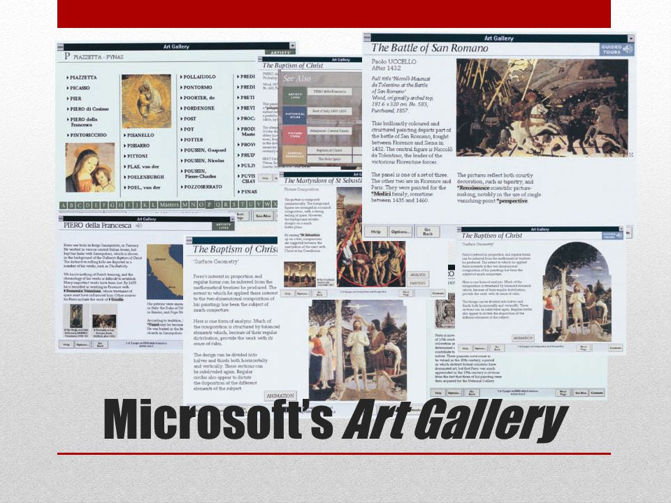 Microsofts Art Gallery