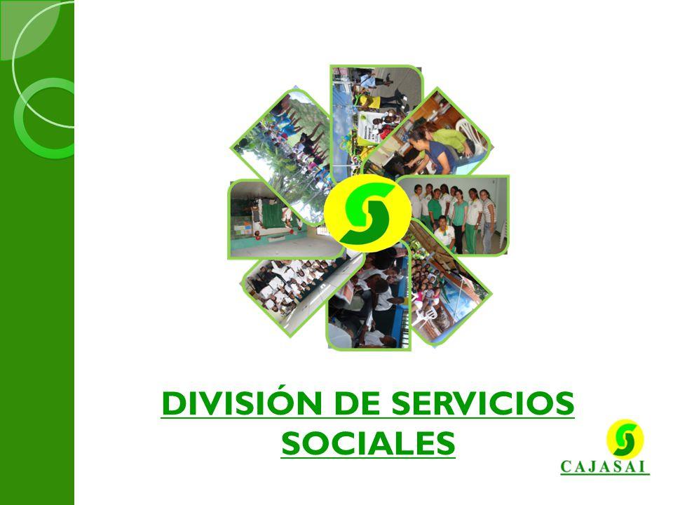 DIVISIÓN DE SERVICIOS SOCIALES