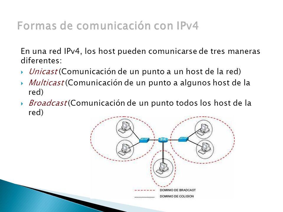 Hay 3 tipos de direcciones principales para realizar el enrutamiento 1) Direcciones de red: La dirección que hace referencia a la red.
