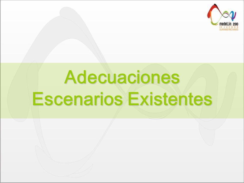 Adecuaciones Escenarios Existentes