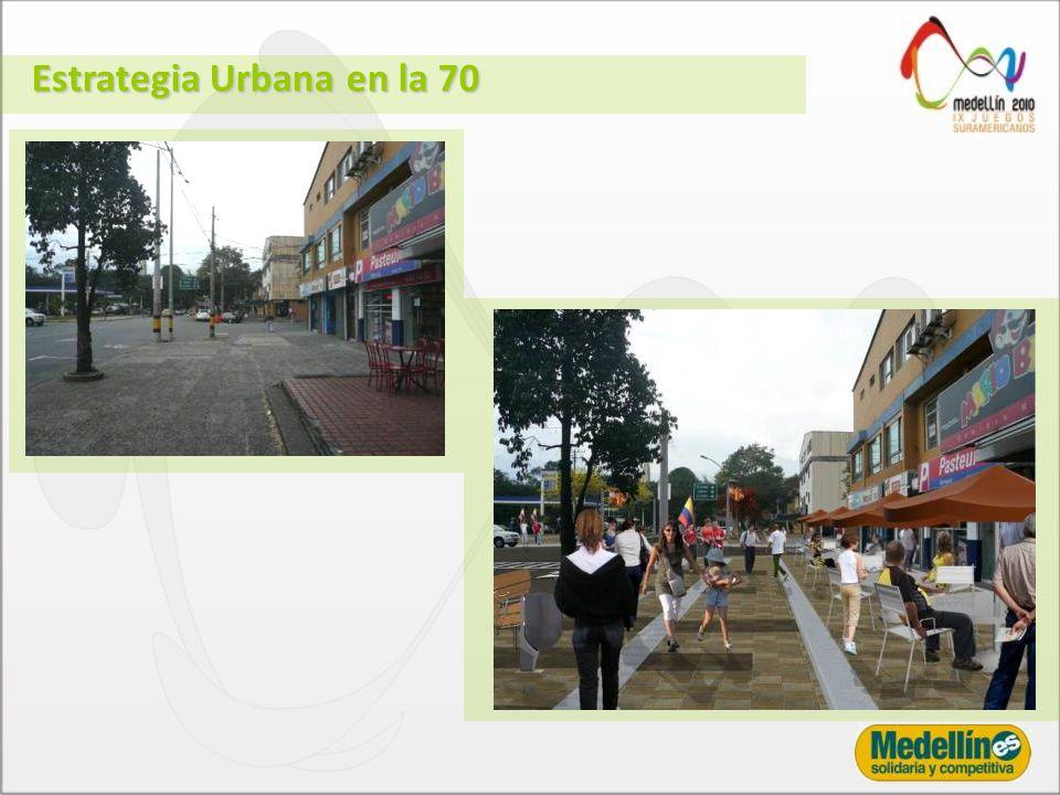 Estrategia Urbana en la 70