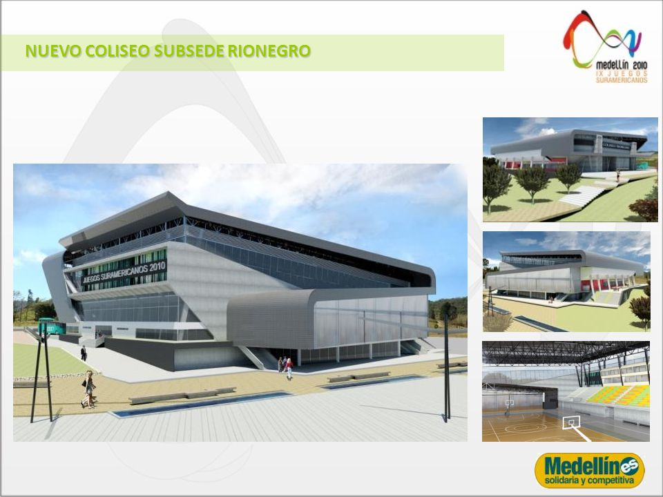 NUEVO COLISEO SUBSEDE RIONEGRO