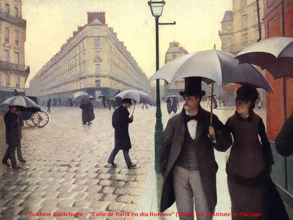 Alfred Sisley – Nieve en Louveciennes París, Museo dOrsay