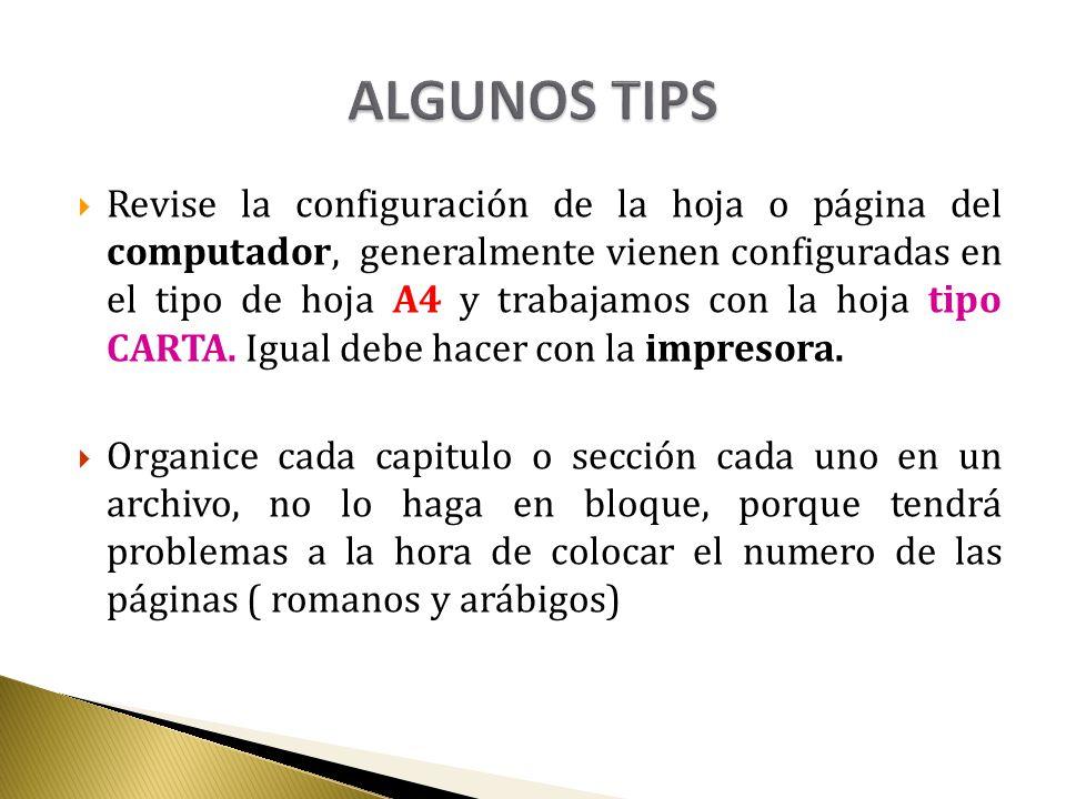Revise la configuración de la hoja o página del computador, generalmente vienen configuradas en el tipo de hoja A4 y trabajamos con la hoja tipo CARTA