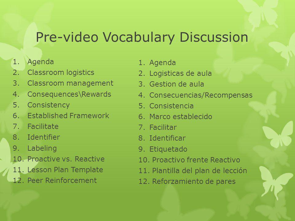 Ver y Discutir: Gestion de Clases Grandes: Segmento 1 Pedagogical Planning 1.Cuales fueron ideas que ya usa en su clase.