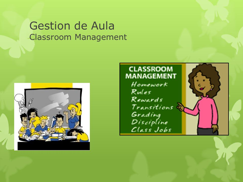 Gestion de Aula Classroom Management