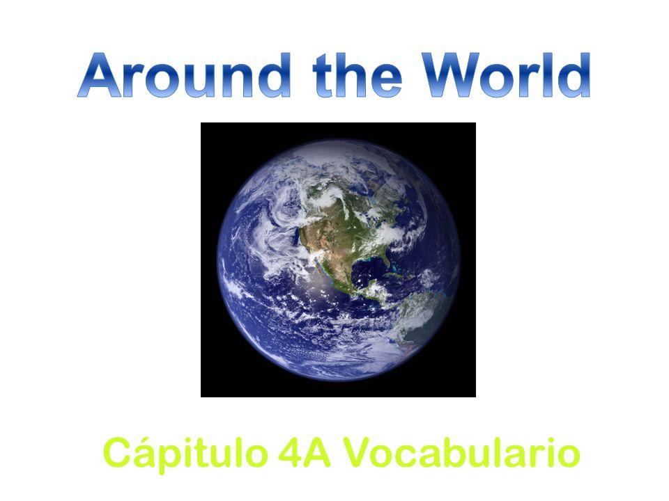 Cápitulo 4A Vocabulario