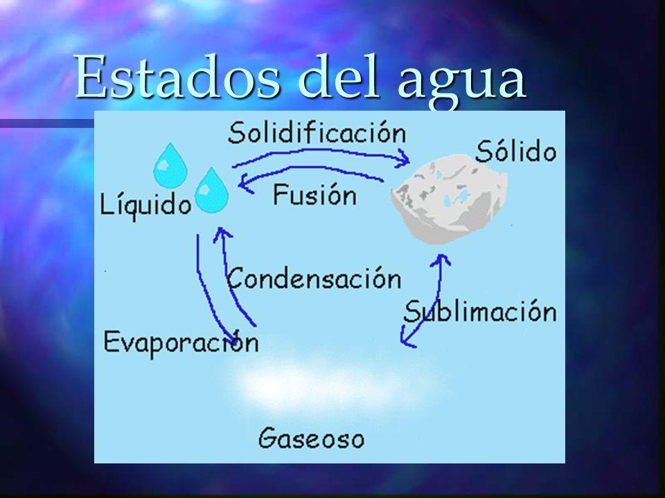 El agua se encuentra en tres reservorios principales: los océanos, los continentes y la atmósfera.