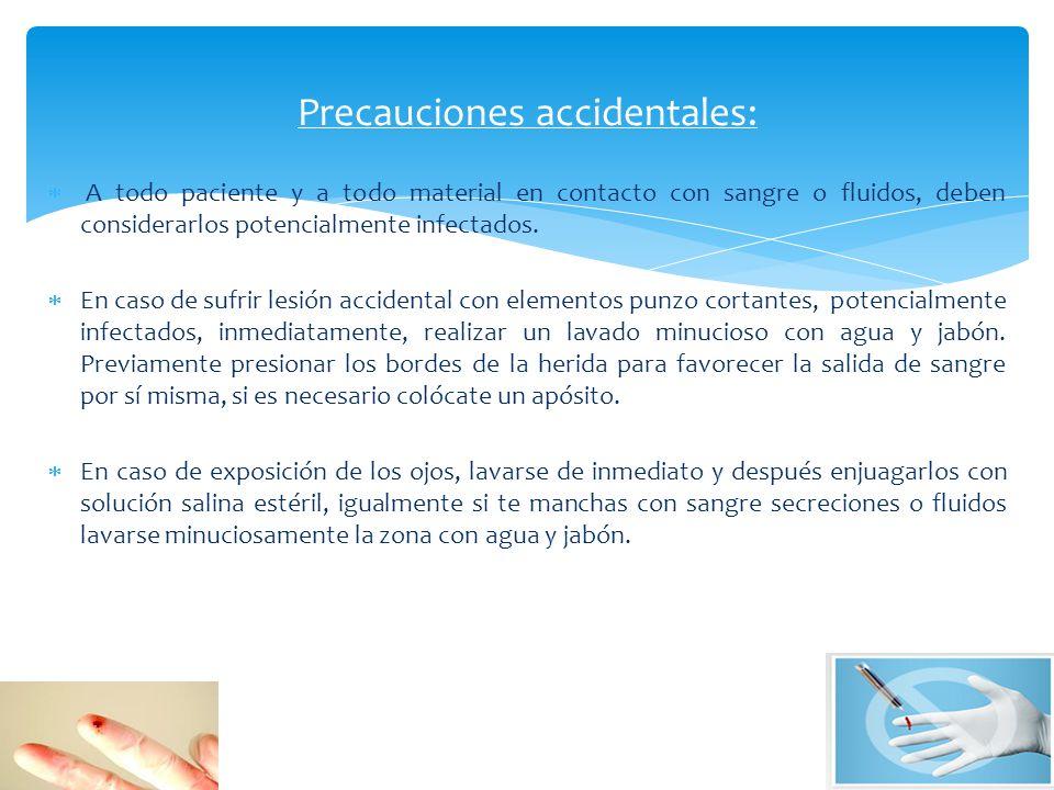 Se entiende por invasivo, todos los procedimientos que irrumpen la barrera tegumentaria o mucosa del paciente. Las precauciones en los procedimientos