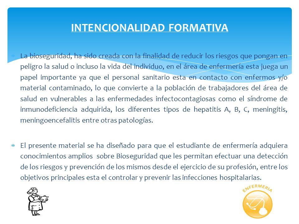 MEDIDAS DE BIOSEGURIDAD EN ENFERMERIA FACILITADOR: Licda. Bélgica León PAD 2013.
