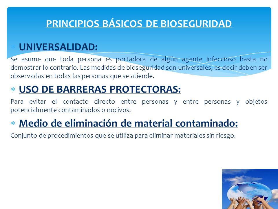 Es el conjunto de medidas preventivas que tienen como objetivo proteger la salud y la seguridad del personal, de los usuarios y de la comunidad, frente a diferentes riesgos producidos por agentes biológicos, físicos, químicos y mecánicos.
