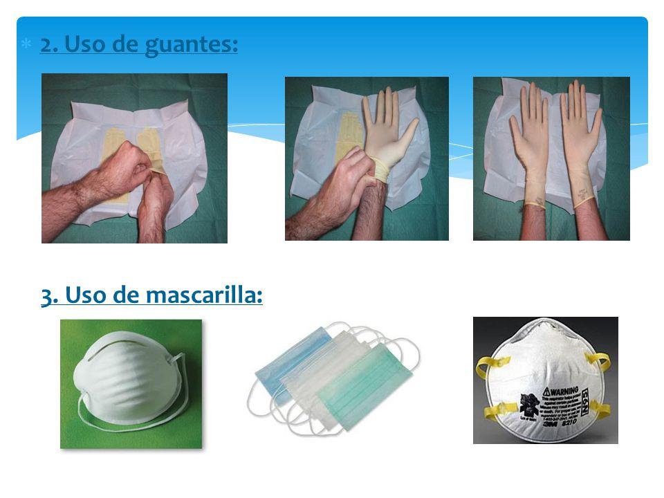 Son medidas diseñadas para disminuir el riesgo de transmisión de patógenos a través de la sangre, fluidos corporales y por aerosoles ó microgotas. 1.