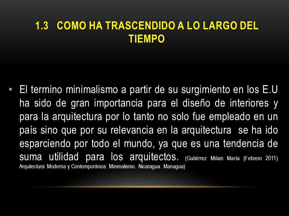 1.4CARACTERÍSTICAS DEL MINIMALISMO -Abstracción.-Economía de lenguaje y medios.