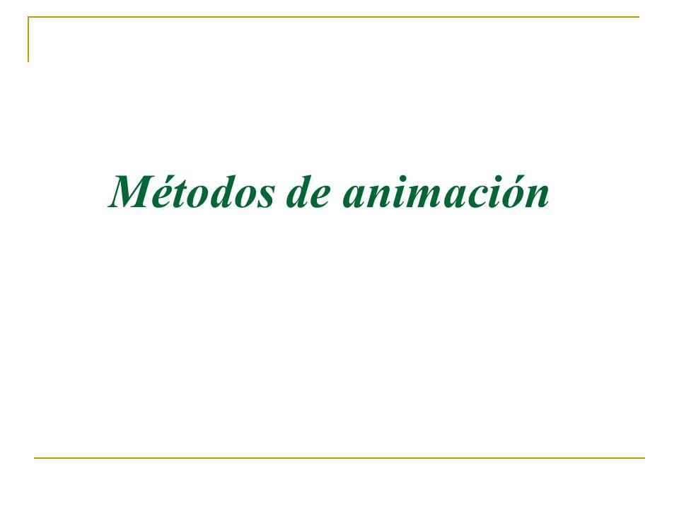 Métodos de animación