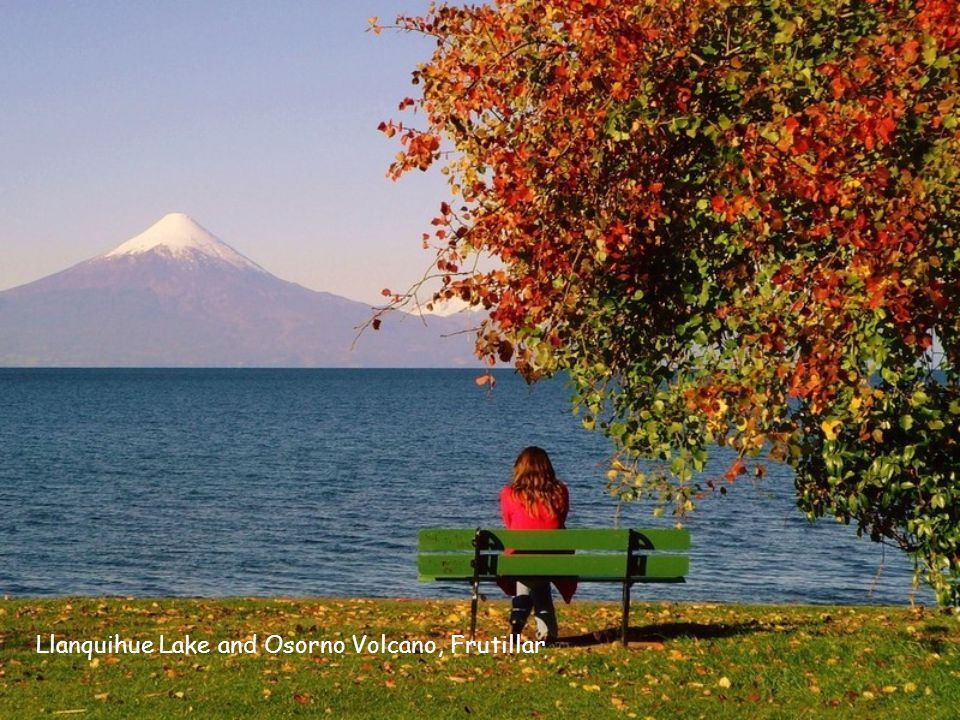Llanquihue Lake and Osorno Volcano, Frutillar